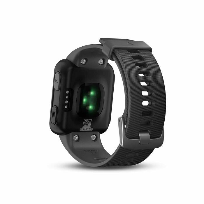 Gps-horloge met hartslagmeting aan de pols Forerunner 30 zwart - 1314194