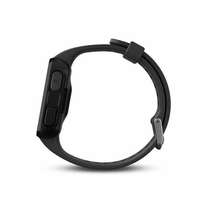 Gps-horloge met hartslagmeting aan de pols Forerunner 30 zwart - 1314195