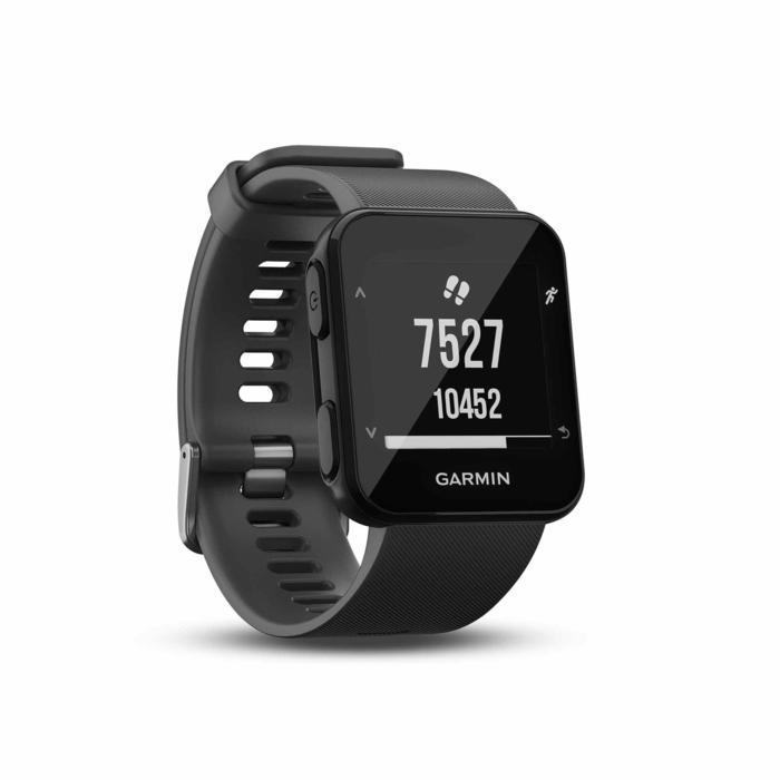 Gps-horloge met hartslagmeting aan de pols Forerunner 30 zwart - 1314197
