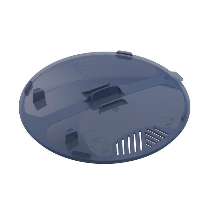 Fiambrera campamento itinerante MH500 inox + revestimiento antiadher. 2 P 2,1L