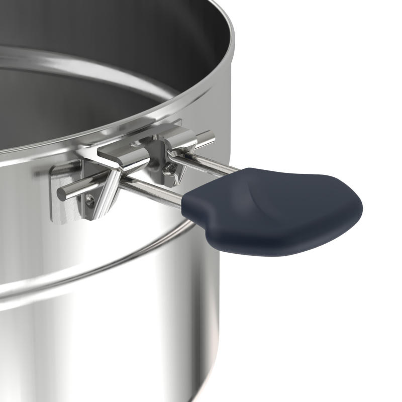 Cookset 4 person 3.5L (Stainless + Anti-stick)