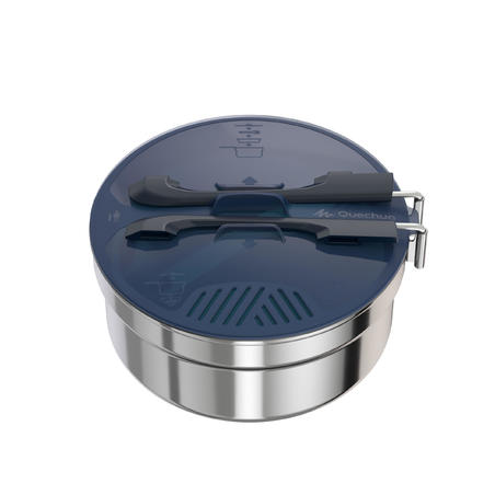 MH 100  Stainless Hiking Camp Cookset 1P