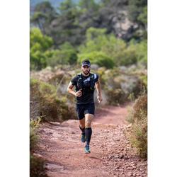 MOCHILA DE TRAIL RUNNING MIXTO 10 L NEGRO Y BLANCO