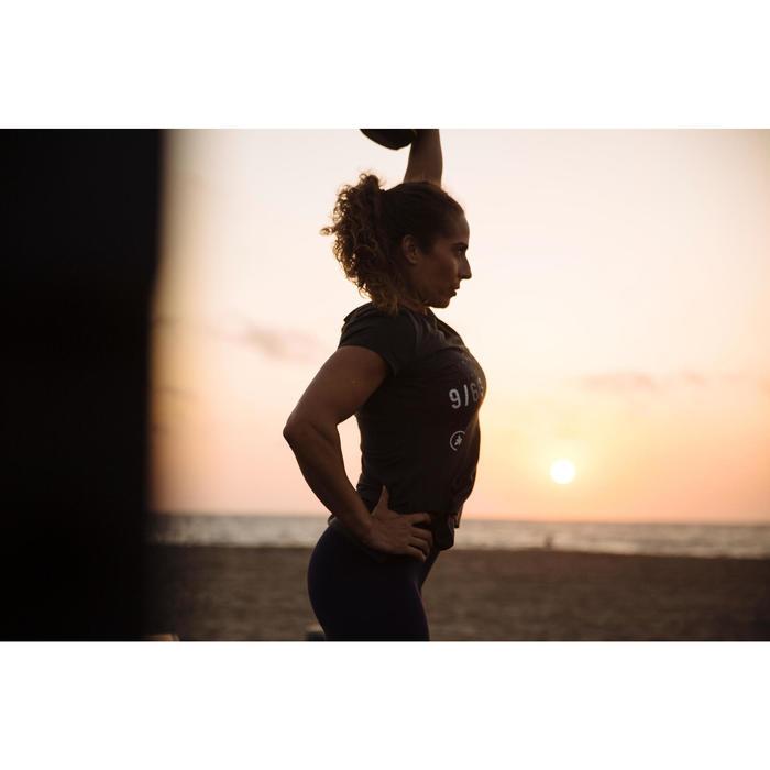 500 Women's Cross Training T-Shirt - Khaki