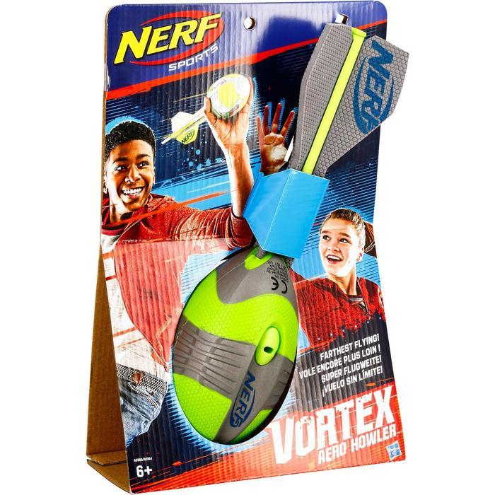 Ballon de Football américain pour enfant Vortex Nerf 32 cm orange ou vert - 1314562