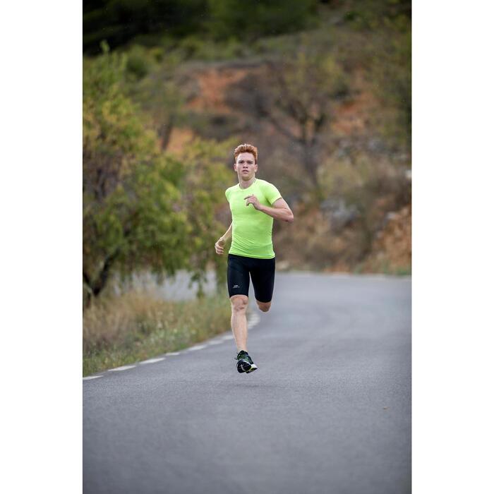 TEE SHIRT DE RUNNING HOMME ROUGE SKINCARE KIPRUN