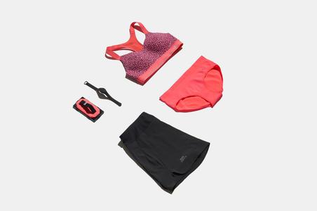 """Trumpi sportiniai bėgimo marškinėliai """"Comfort"""" ‒ purpuriniai"""
