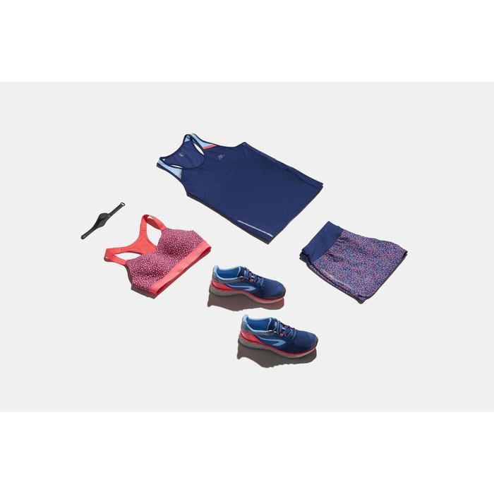 Sport-Bustier Komfort koralle/gemustert