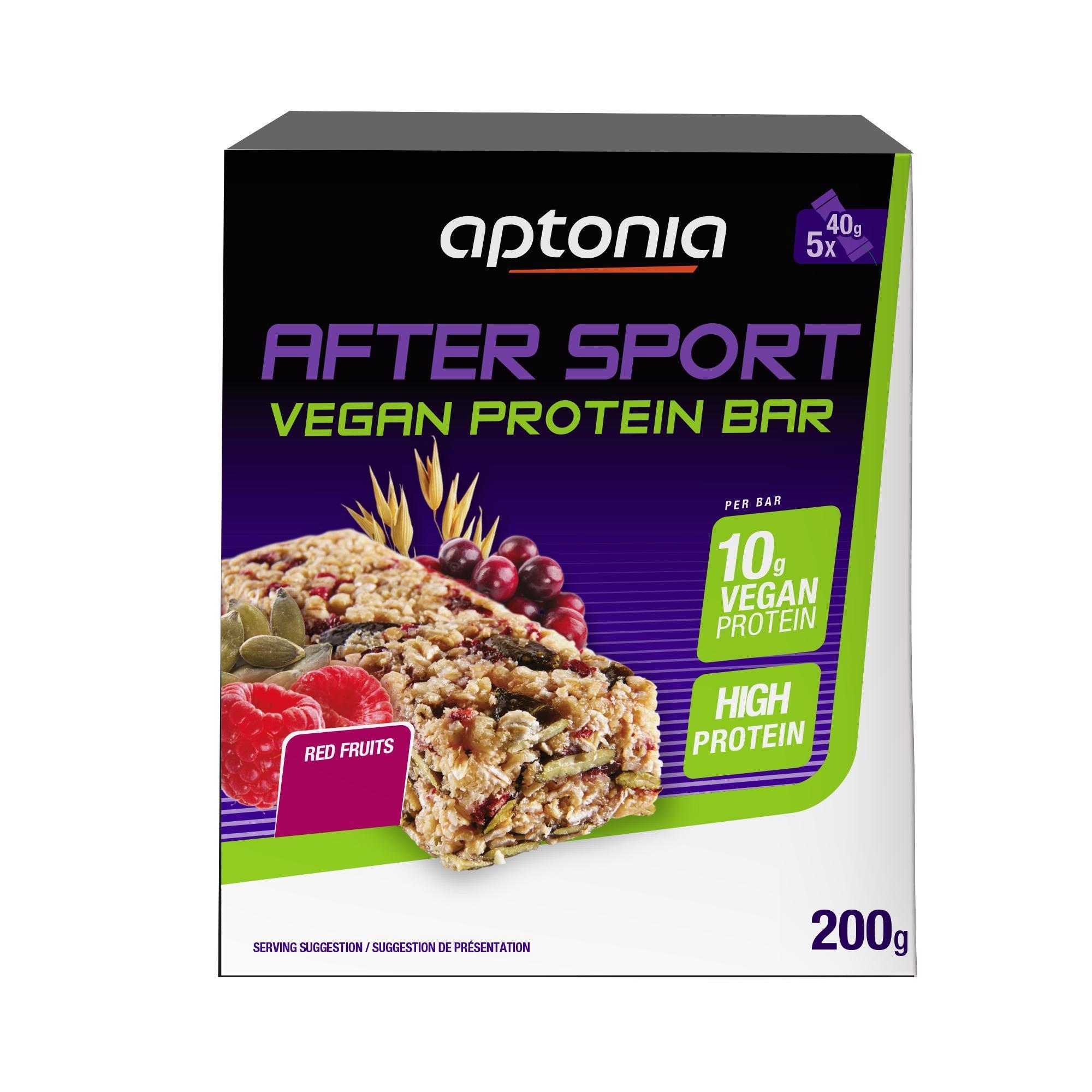 Proteinriegel After Sport Vegan Rote Früchte 5 x 40 g