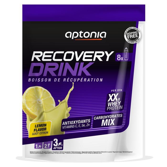 Boisson de récupération poudre RECOVERY DRINK Citron 512g - 1314701