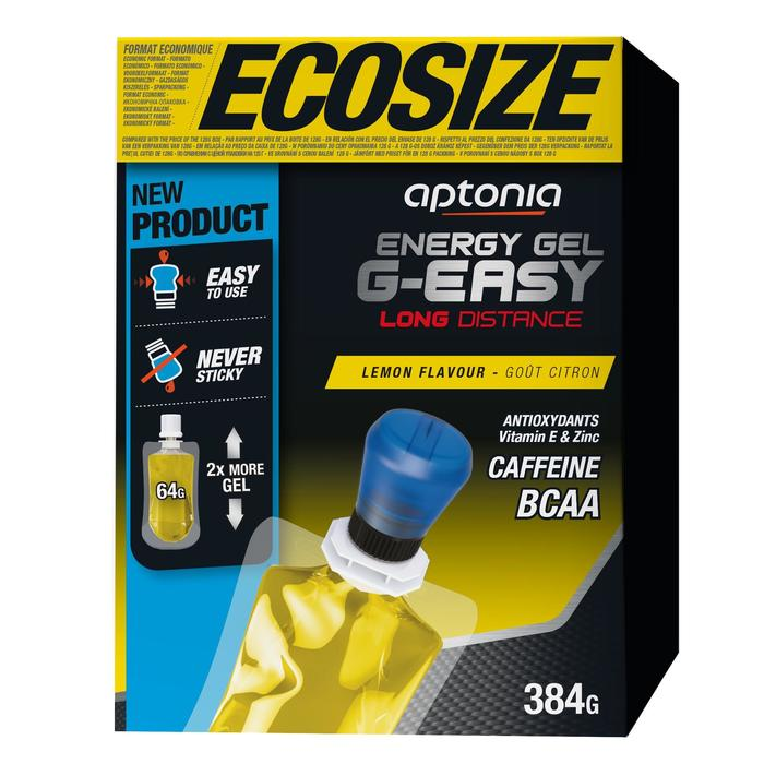 Energy Gel G-Easy Long Distance Zitrone 6×64g