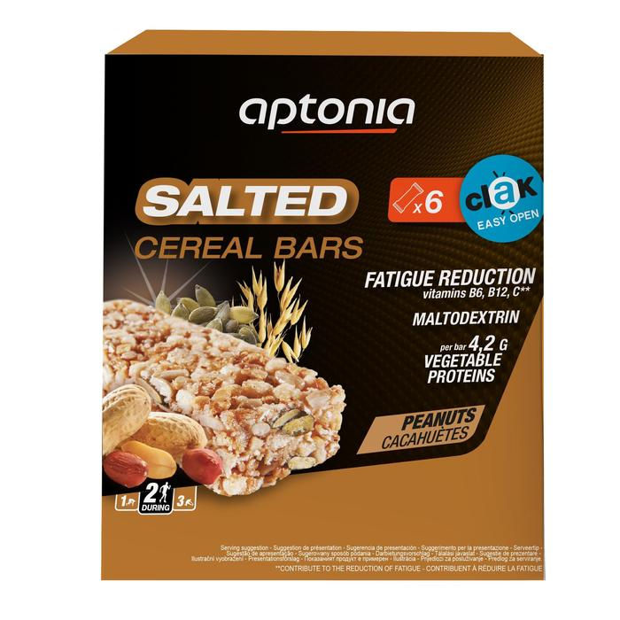 Barre de céréales Salée SALTED CEREAL BAR Cacahuètes 6x35g - 1314711
