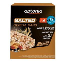 Barre de céréales Salée SALTED CEREAL BAR Cacahuètes 6x35g