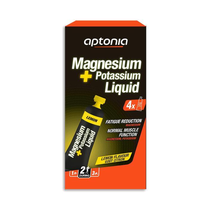 Magnesium- en kaliumgel citroen 4x 35 g