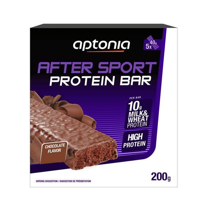 Barre protéinée AFTER SPORT brownie 5x40g - 1314722