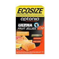 Barritas energéticas de frutas Aptonia ECOSIZE ULTRA 12x25 g cítricos