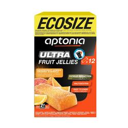 Pâte de fruits ECOSIZE ULTRA fraise acerola 12x25g