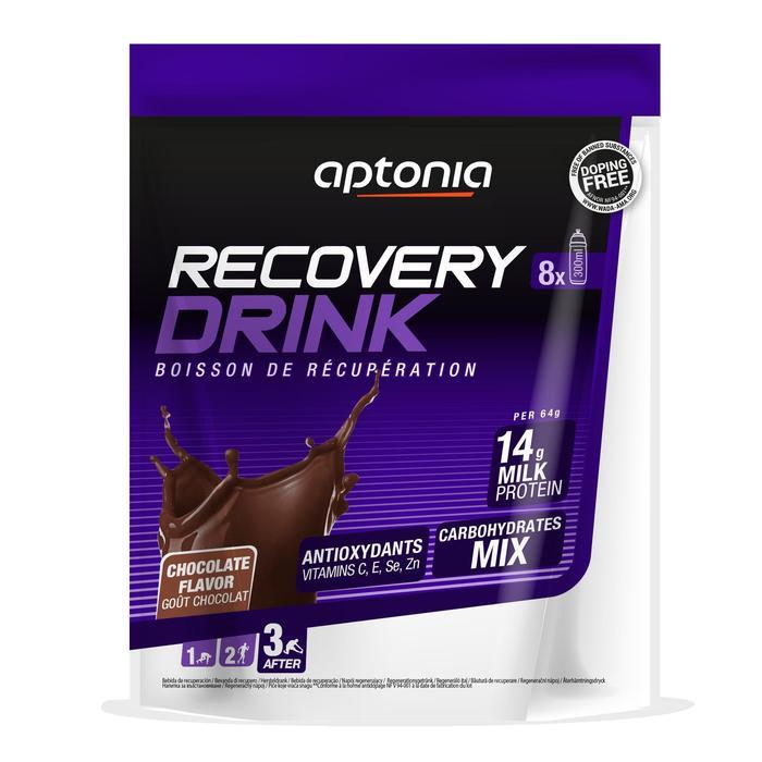 Bebida de recuperación en polvo RECOVERY DRINK chocolate 512 g
