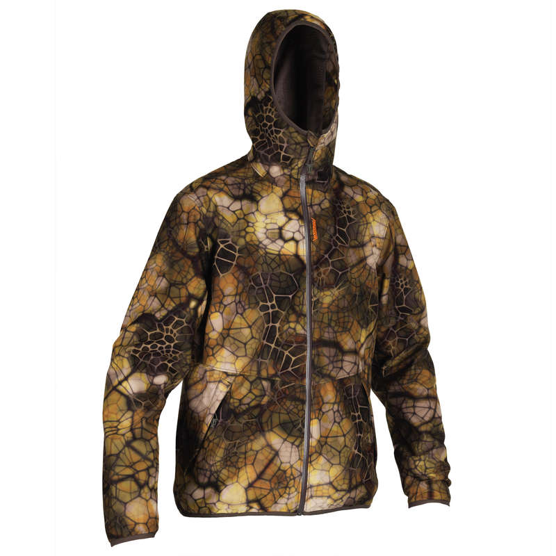 STALK CLOTHING DRY/WET WEATHER Shooting and Hunting - Silent Wtprf Jacket 500 Furtiv SOLOGNAC - Hunting and Shooting Clothing