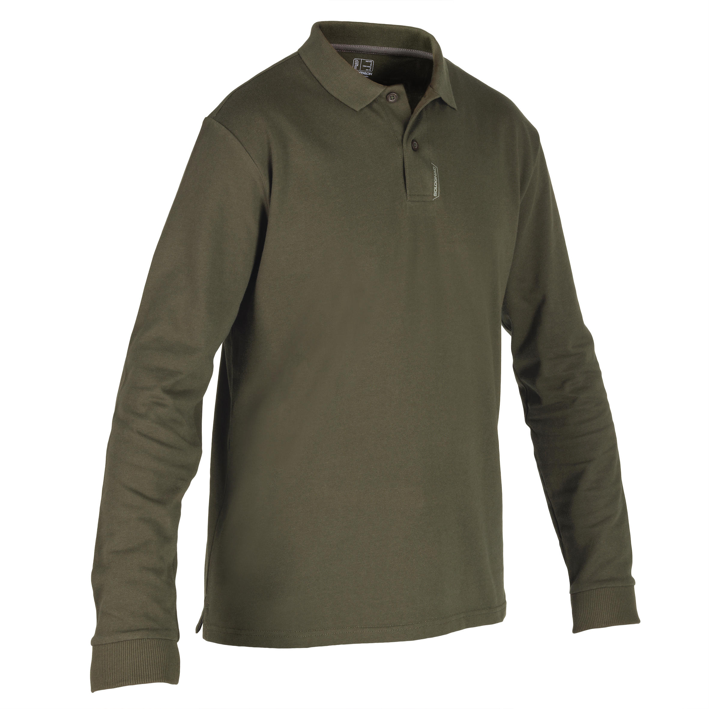Polo SG100 manches longues vert