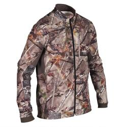 Hunting Silent Breathable Jacket 500 - Forest Camo