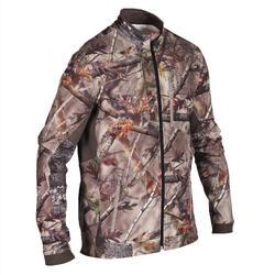 Stille jachtjas ademend warm 500 bruine camouflage