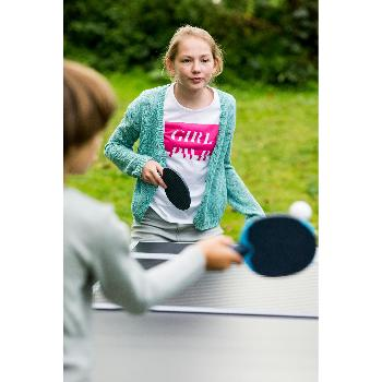 RAQUETTE DE TENNIS DE TABLE FREE FR 100 / PPR 100 OUTDOOR GRISE