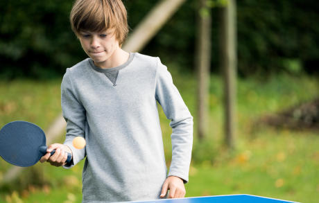 racketsporten voor kinderen