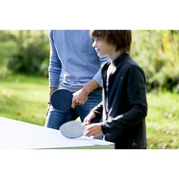Tafeltennisbatje / Pingpongbatje outdoor PPR 100 donkerblauw
