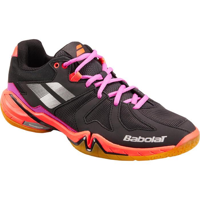 Schoenen voor badminton of squash, dames, Babolat Shadow Spirit