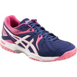 Schoenen voor badminton of squash, voor dames, Hunter