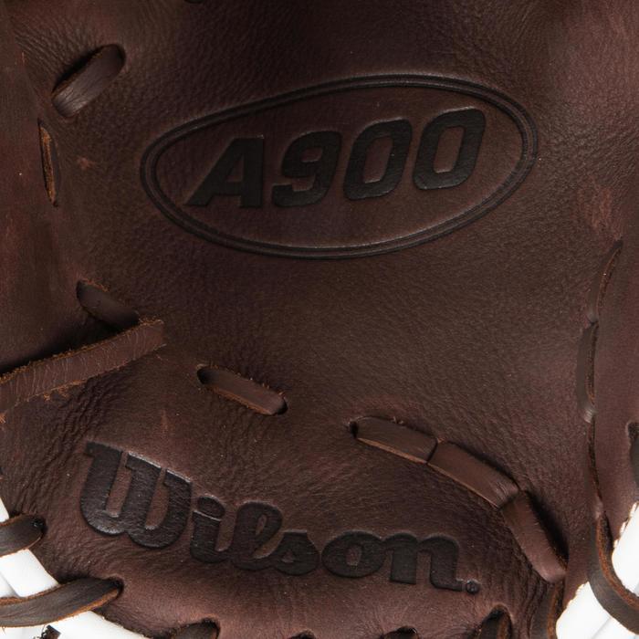 Gant de baseball A900 main droite 11.75 pouces marron - 1315117