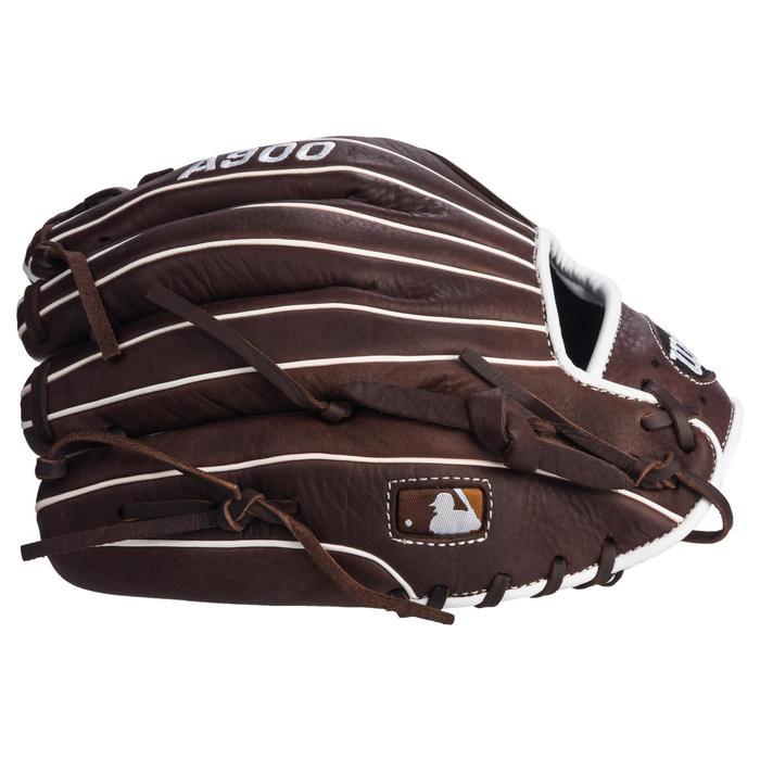 Gant de baseball A900 main gauche 11.75 pouces marron - 1315118