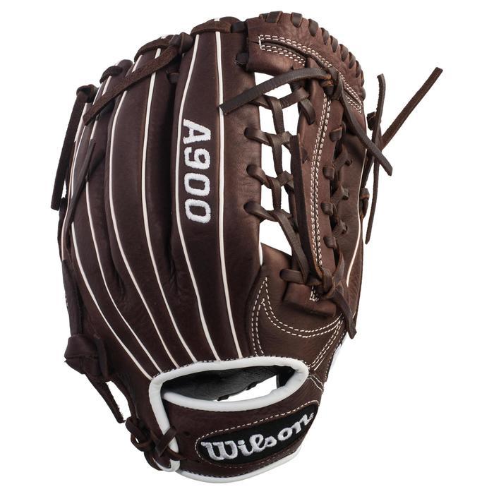 Gant de baseball A900 main droite 11.75 pouces marron - 1315126