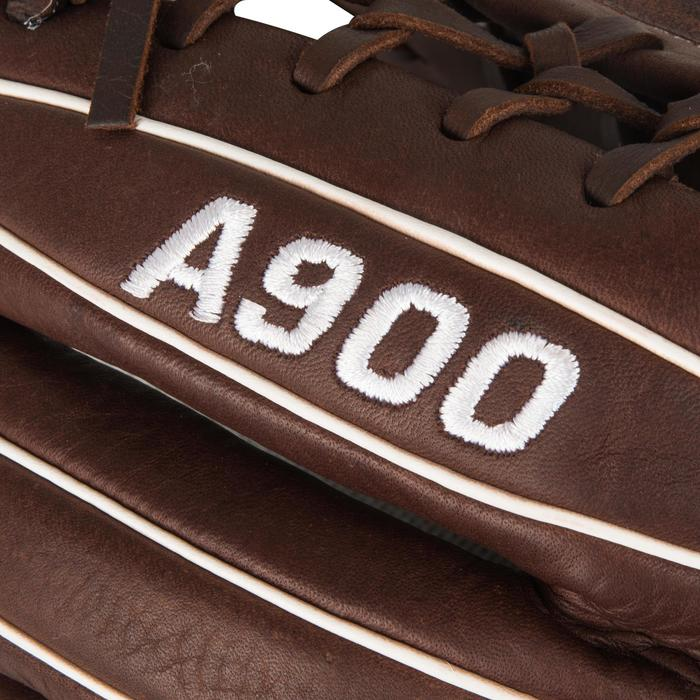 Gant de baseball A900 main droite 11.75 pouces marron - 1315128