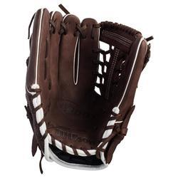 Baseballhandschuh A900 linke Hand 11,75'' Erwachsene braun