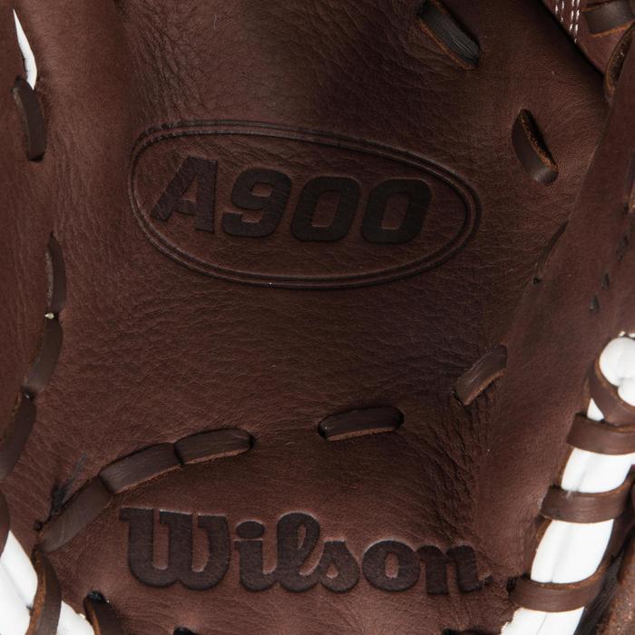 Gant de baseball A900 main droite 11.75 pouces marron - 1315132