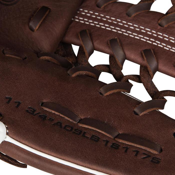 Gant de baseball A900 main droite 11.75 pouces marron - 1315135