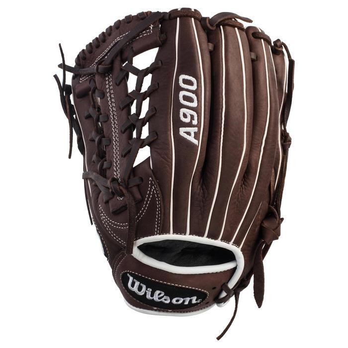 Gant de baseball A900 main droite 11.75 pouces marron - 1315136