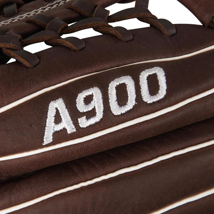 Gant de baseball A900 main droite 11.75 pouces marron - 1315141