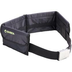 Cinturón de lastres flexibles con bolsillos