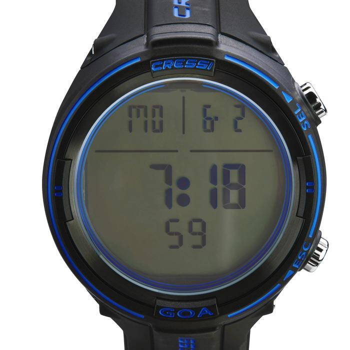 Montre Ordinateur de plongée bouteille Goa noir/bleu - 1315163
