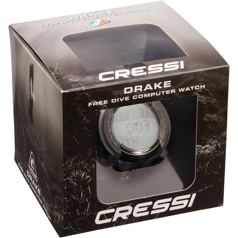 Montre Ordinateur d'apnée et chasse sous-marine Drake Titanium CAMO