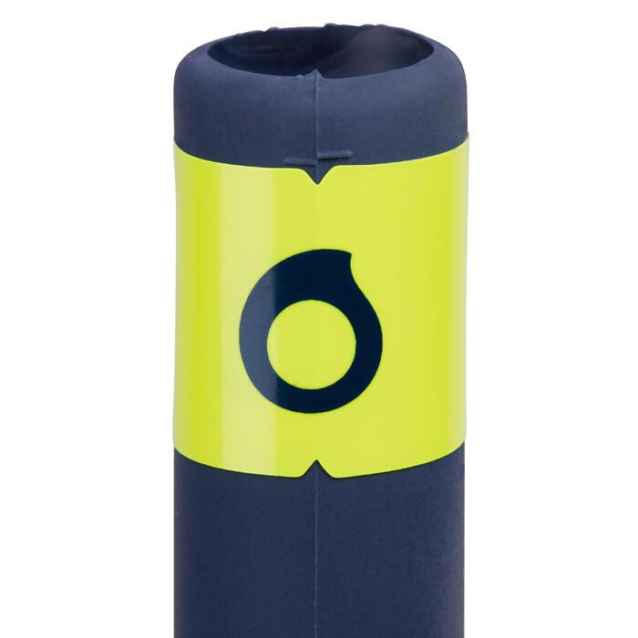 Schnorchel Gerätetauchen SCD 100 Mundstück aus Silikon blau