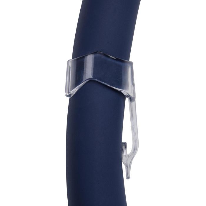 Tubo Snorkel Buceo Subea Fleixble SCD 100 Adulto Azul Boquilla Silicona