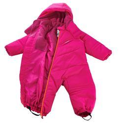 Combinaison de ski / luge bébé warm rose
