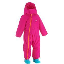 Mono de trineo warm rosa bebé