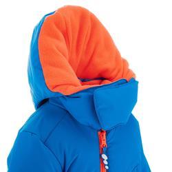 Sneeuwpak warm voor sleeën babyblauw