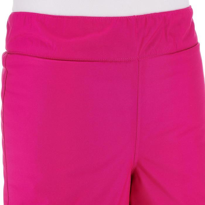 Skihose Piste 100 Kinder rosa