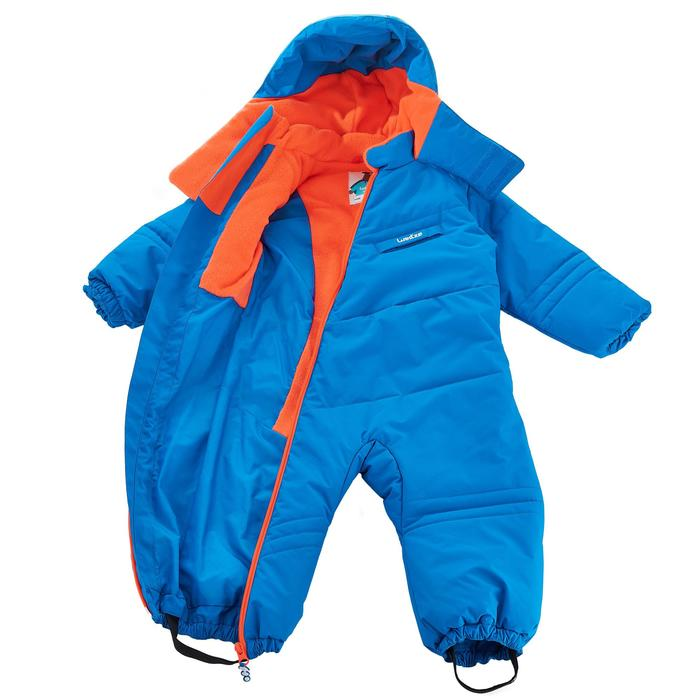 Babies' Ski/Sledge Snowsuit Warm - Blue